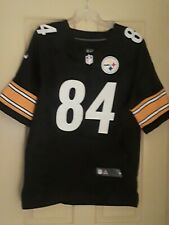 Nike NFL Pittsburgh Steelers #84 Brown Football Jersey Mens Medium