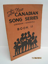 The New Canadian Song Series Book 2 by Cringan