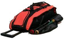 New Cobra RTS Roller Bat Bag in Black and Orange equipment roller bat bag