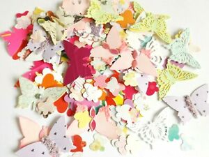 Mixed Butterfles Paper Craft Embellishments Scrapbooking Card Making Crafts