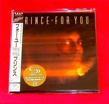 Prince For You SHM MINI LP CD JAPAN WPCR-13530