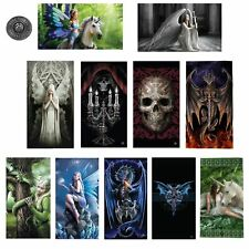 Awesome Cool 100% Velour Printed Beach Bath Towel 75 x 150 cm by Anne Stokes
