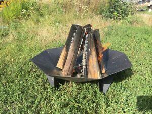 Feuerschale Ø 60 cm Terrasse Kamin Feuerstelle Lagerfeuer Grills Pflanzschale