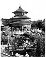 Vtg Orig 8x10 1987 Publicity Photo Walt Disney World China Temple of Heaven
