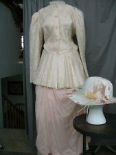 Victorian Dress Edwardian Costume Civil War Style Reenactment Walking Suit