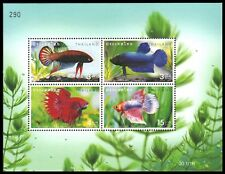 "THAILAND 2021a - Siamese Fighting Fish ""Souvenir Sheet"" (pa93848)"