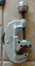 Ridgid Pipe Cutter No 20 Rigid Copper Tubing 5/8 - 2 1/8 Tool Aluminum Great Con