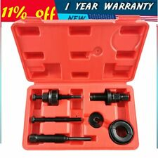 Power Steering Pump Puller Pulley Remover Set For GM Ford C2 C111 Installing Kit