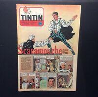 Journal Tintin n°233 de 1953 Éd Francaise sans point Tintin.