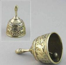 Campanello Campana Campanella in ottone lucido 4 evangelisti misura grande