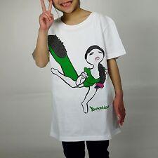 "Sasuraikimono Series ""Burashi-onna""/Brush Woman/T-Shirt/5.6 oz/Girls-S/Character"
