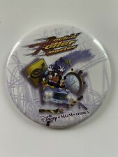 Disney Mgm Studios Rock N Roller Coaster 3 1/2� Pin Back Button