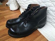 1958 Vintage Mint Combat boots sz 12 international shoe company New