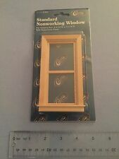 Standard Nonworking Window CLASSICS inch to a foot scale doll house miniature