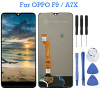 For OPPO F9 / A7X Black LCD Display Touch Screen Digitizer Assembly Black Tools