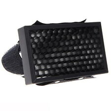 Flash Honeycomb Grid Spot Filter for Canon Nikon Yongnuo Sony Speedlight Black
