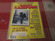 National Lampoon vintage issue April 1987