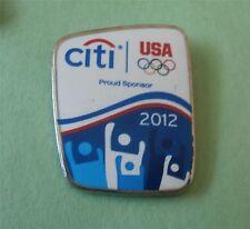 Citi (Bank Logo) - London 2012 -USA  Sponsor Olympic Pin