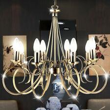 LED Lustre Plafonnier Suspendu Lampe Ess Chambre Vieux Laiton Luminaire