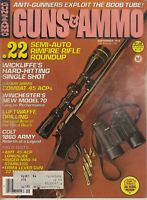 Guns & Ammo Magazine September  1979 , .22 semi auto rimfire rifle, Luftwaffe