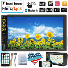 7 inch HD touch Screen Car Stereo with mirror link Bluetooth MP3 MP5 Auto Radio
