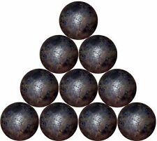 "10 - 1"" dia. forged steel balls (1-1/2 lbs)"