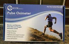 Roscoe Medical Fingertip Pulse Oximeter Monitor