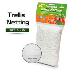 VIVOSUN 5ft x 15ft Heavy Duty Trellis Netting Plant Support Garden Grow Mesh Net
