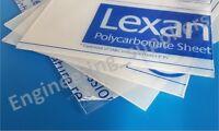 Lexan Clear 0.75mm & 1.0mm Thk Polycarbonate Plastic Sheet A5, A4, A3, A2 & A1