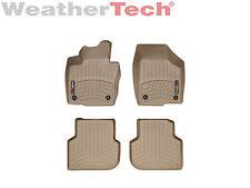 WeatherTech Floor Mats FloorLiner for Volkswagen Jetta Sedan - 2011-2017 - Tan