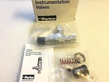 ✔NEW✔ Parker High Pressure Proportional Relief Valve Stainless Kit 350-750 PSI