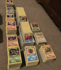 50 Card WOTC Vintage Lot 1999 Pokemon Cards Shadowless, Rares 1st Editions LP-NM