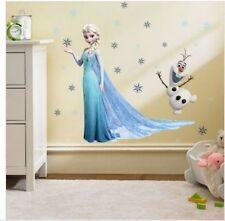 Eiskönigin Wandtattoo Wandsticker Elsa Frozen Wandaufkleber Kinderzimmer Olaf 2