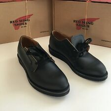 Red Wing Heritage 101 Postman Oxford Black FACTORY 2NDS Mens Sz 8.5 New in Box!