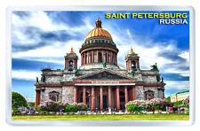 SAINT PETERSBURG RUSSIA MOD3 FRIDGE MAGNET SOUVENIR IMAN NEVERA