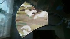 Genuine Crye Precision Multicam Fabric Face Mask - US Army/Air Force (OCP) LARGE