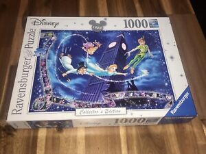 Ravensburger Disney Peter Pan 1000 Piece Puzzle Collectors Edition