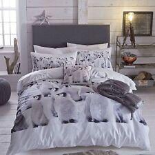 Sábanas y fundas de cama Catherine Lansfield color principal gris
