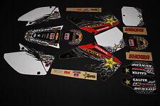 HONDA CRF450R 2002-2004 ROCKSTAR FLU MX GRAPHICS KIT STICKER KIT STICKERS