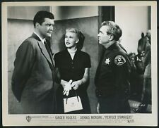 Ginger Rogers, Dennis Morgan • Original B&W w/ NSS Stamp • PERFECT STRANGERS '50
