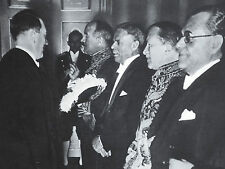 Adolf Hitler Greeting Diplomats Francois-Poncet Hamdi Arpag 1937 Photo Article