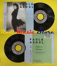 LP 45 7'' PAULA ABDUL Straight up Cold heart 1988 france SIRN 90504 no cd mc dvd