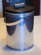 Vintage MCM Aluminum Ice Bucket