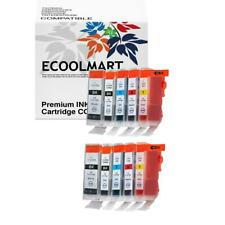 10 NEW Pack Ink Cartridges for BCI-3e BCI-6 Canon Pixma MP750 MP760 MP780