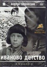 DVD Ivan's Childhood IVANOVO DETSTVO Iwans Kindheit TARKOVSKY Иваново детство