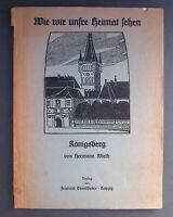 Heft Königsberg, Aufsätze u. Federzeichnungen von H.Wirth 1905