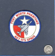 457th TFS F-4 PHANTOM SPADS ANG USAF Fighter Squadron Patch