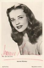 Autographe Original: JEANNE MOREAU / Vintage.