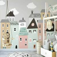 Painted Wallpapers Home Kids Bedroom Wall Mural Decor Thick Non-woven Wallpaper