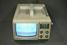 Bentley Deluxe Portable 5-Inch Black & White Television TV, Model No. 100C Works
